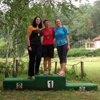 3. CEC 2018 Belgrad - Podium Recurve Damen